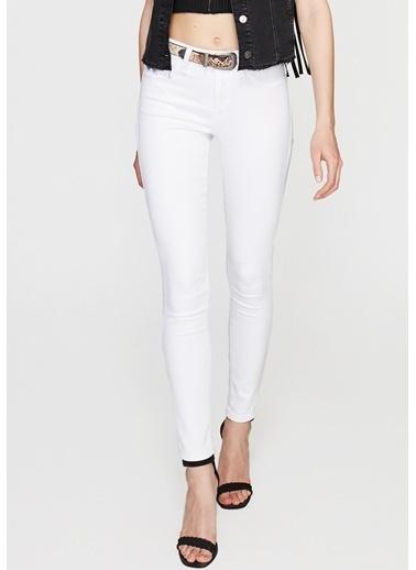 Mavi Jean Pantolon | Alissa - Super Skinny Beyaz